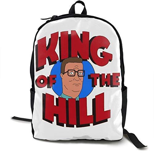 KNKN Bobby Hill School Backpack Bag High Middle Bookbag for Men Women Boys Girls