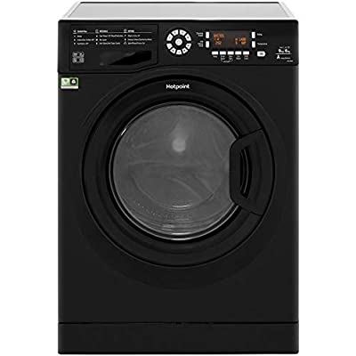 Hotpoint FDD9640K A Rated Freestanding Washer Dryer - Black