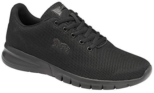 Lonsdale Bedford, Zapatillas para Correr de Carretera Hombre, Black, 40.5 EU