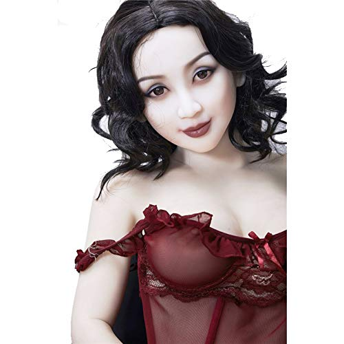 Silicone Sex Doll Metal Skeleton 160cm 5ft24 Chubby Fat Dolls Small Breasts sextoys for Men Anna