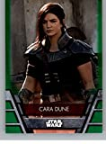 2020 Topps Star Wars Holocron Series Green #REB-33 Cara Dune Official Collectible Trading Card