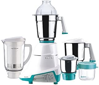 Preethi Nitro 4-Jar Mixer Grinder with Super Extractor, 110-volt