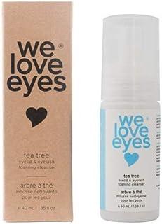 We Love Eyes- Vegan Tea Tree Eyelid Eyelash Foaming Cleanser- Blepharitis, Demodex, Dry Eyes Relief and treatment, Wash Ey...