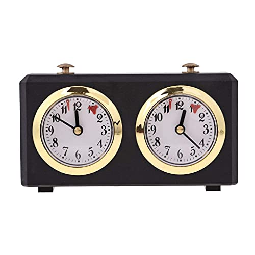 Dulcicasa Reloj de ajedrez, temporizador, electrónico, reloj de ajedrez, temporizador, cronómetro, para juego de mesa