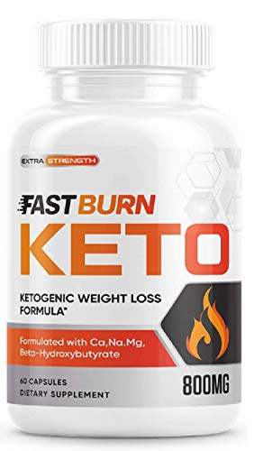 Fast Burn Keto Extra Strengh 60 CAPS - KETOGENIC Weight Formula - 1 Month Supply …