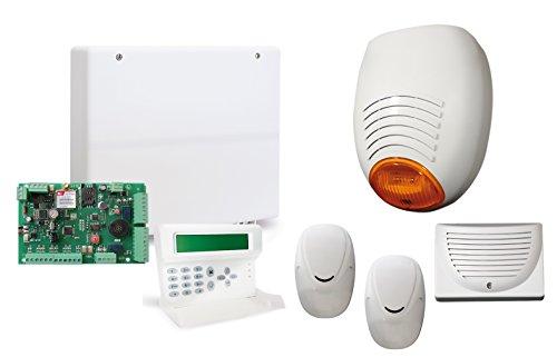 ANTIFURTO ALLARME AMC KIT 501 ANTIFURTO CON CENTRALE FILARE C24 GSM PLUS 8 ZONE