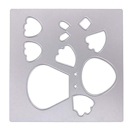 Stanzbögen Schneidwerkzeug, Dies Scrapbooking,Huhn Metallschneidwerkzeuge Schablonen DIY Scrapbooking Prägepapier Karte