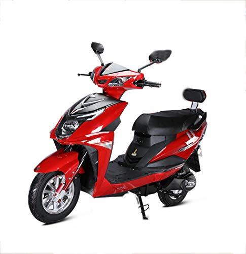 Elektromobilität Motorroller Elektromotorrad 1000W Elektrofahrrad 60V / 20AH Erwachsene Männer und Frauen gehen Blei-Säure-Batterie Licht Erwachsenen Batterie Auto