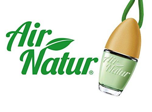 Air Natur 5 Stück stylische Duftflakons fürs Auto und Zuhause Autoduft Raumduft Lufterfrischer Green Apple - Apfel