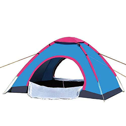 Tent Outdoor Camping Automatische Tweepersoons 200 * 150 * 110CM, Lake Blue