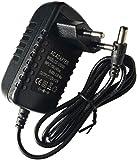 Easyday Adaptateur d'Alimentation AC/DC 12V 2A Transformateur Universel Chargeur...