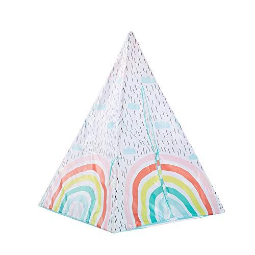 WZXX Outdoor Spielen Zelt, Tragbare Faltbare Zelt Net Easy to Assemble Kinderzimmer Tipi Für Indoor Geschenke Spielzeug Haus Und Garten Geschenk