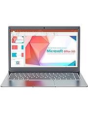 "Jumper 13.3"" Notebook 4 GB + 64 GB PC Portatile Windows 10 MS Office One year(Laptop Intel Dual Core CPU USB3.0 BT 4.2 Espandibile fino a 1 TB SSD 256GB TF 2.4G/5G WiFi)"