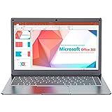 Jumper 13.3' Notebook 4 GB + 64 GB PC Portatile Windows 10 MS Office One year(Laptop Intel Dual Core CPU USB3.0 BT 4.2 Espandibile fino a 1 TB SSD 256GB TF 2.4G/5G WiFi)