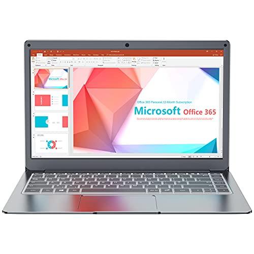 Jumper 13.3  Notebook 4 GB + 64 GB PC Portatile Windows 10 MS Office One year(Laptop Intel Dual Core CPU USB3.0 BT 4.2 Espandibile fino a 1 TB SSD 256GB TF 2.4G 5G WiFi)