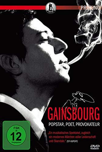 Gainsbourg - Popstar, Poet, Provokateur [Alemania] [DVD]