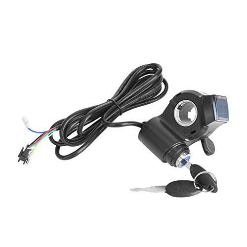 SALUTUYA Interruptor de energía eléctrica Pantalla Digital LCD, para vehículo eléctrico de 12V-99v, Adecuado para la mayoría de Las baterías