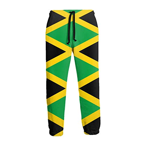 "NA Jamaica Flag Men ""mit Langer Jogginghose und Workout-Outdoor-Sporthose"