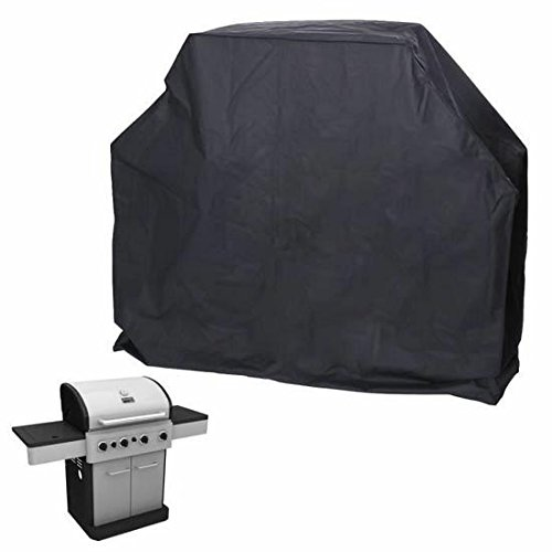 Kingwin extérieur étanche barbecue poussière Housse gaz barbecue électrique Grill protection 170 cm (Noir)
