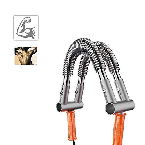 HUWAI-F Barra Flexible Musculacion Power Twister Profesional Máquinas de Brazo con 5 Modos de Peso para Ejercicios de Hombro Brazos y Pecho 50KG,70KG,90KG
