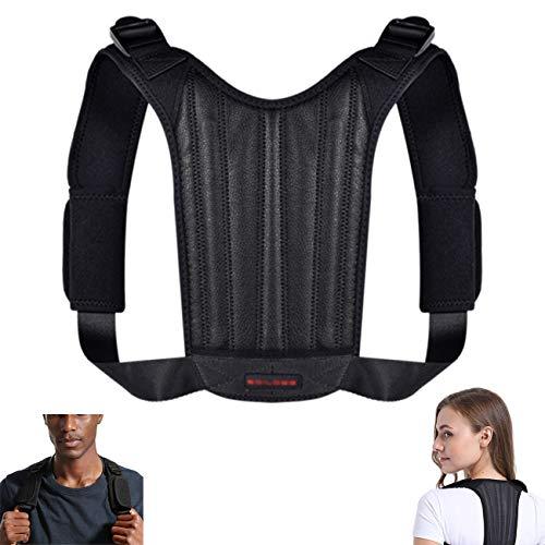 Haltungskorrektur Rücken Verstellbarer Rückenstütze Schultergurt Komfortable Geradehalter zur Posture Corrector Haltungstrainer für Kinder,Damen und Herren Schmerzlinderung von Nacken Rücken Schulter
