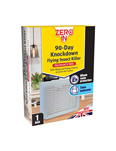 Zero In 90-Day Knockdown Flying Insect Killer (Portable Bug Killer Cassette, No Smell)