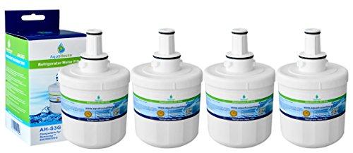4x AH-S3G filtro per l'acqua compatibile per Samsung frigo DA29-00003G, HAFCU1 / XAA, HAFIN2 / EXP, DA97-06317A