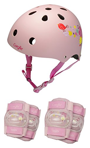 New Corolle OCOR318 Protective Set for Girls, Pink, Size: S/53-55 cm