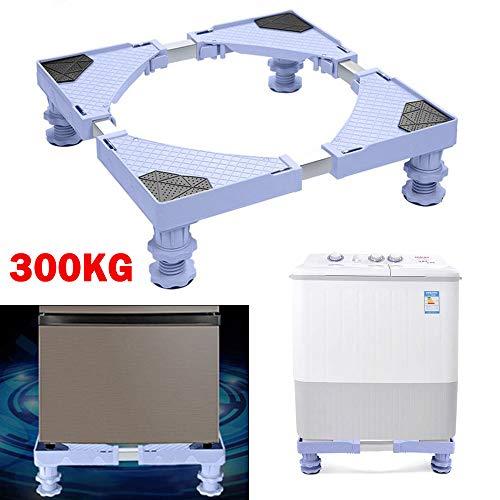 YORKING Universal Waschmaschine Basis Kühlschrank Trockner Basis verstellbare Basis Waschmaschine Stabilitätshalterung