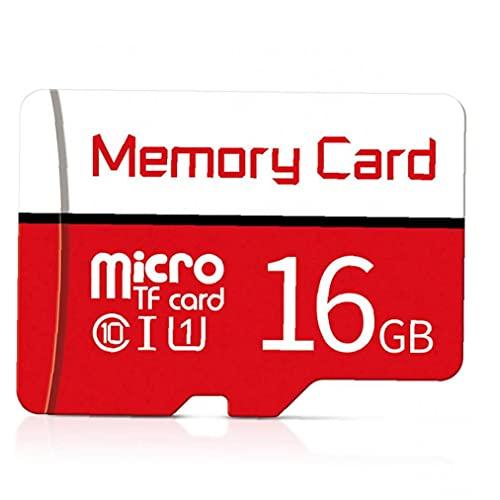 FeelMeet Tarjeta Micro SD SDXC Clase 10 de Alta Velocidad Tarjeta de Memoria SD con Multi Libre Uso de la Tarjeta de 16GB Atapter