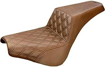 Saddlemen 818-30-172BR LS Step-Up Seat - Brown Diamond