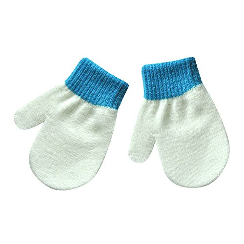 Kariwell Clearance! Infant Baby Cute Solid Color Print Girls Boys of Winter Warm Gloves Thicken Hot Gloves