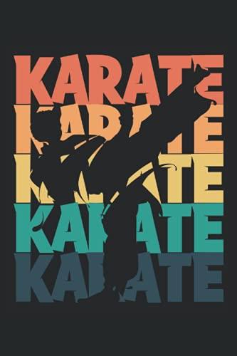 Karate: Notizbuch Schwarz & Weiß mit...