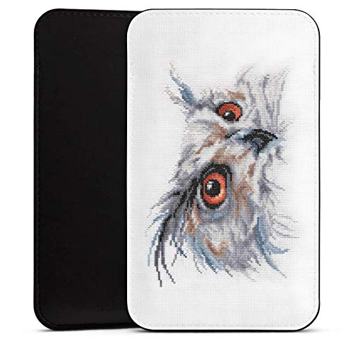 DeinDesign Cover kompatibel mit Wiko Highway Star Hülle Tasche Sleeve Socke Schutzhülle Eule Uhu Owl
