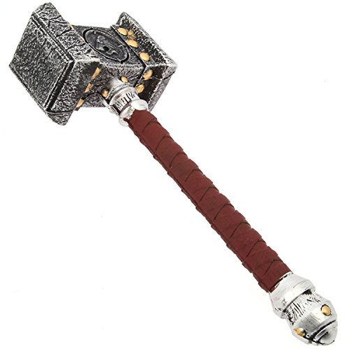 G8DS® World of Warcraft Doom Hammer LARP Wow Fanartikel lebensgroß
