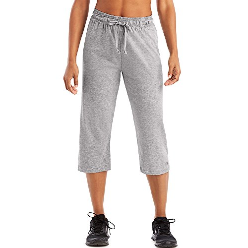 Champion by Authentic Women's Jersey Capri_Oxford Grey_X-Large