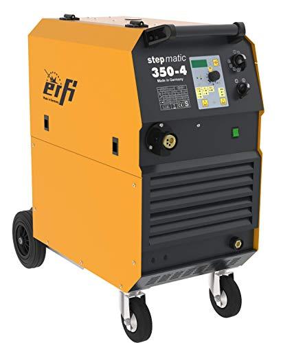 ERFI Stepmatic 350-4 Synergie MIG MAG Schutzgas Schweißgerät - Made in Germany!