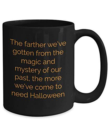 N\A Taza de café de Halloween Disfraz Espeluznante de Miedo Regalo para niños Tratar casa Caramelo Bruja Zombie Esqueleto Boo Calabaza Fantasma Truco embrujado Pirata