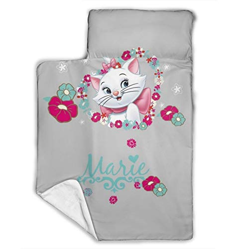 Toddler Nap Mat - Includes Pillow & Fleece Blanket – Great for Boys and Girls Napping at Daycare, Preschool, Or Kindergarten - Fits Sleeping Toddlers and Young Children