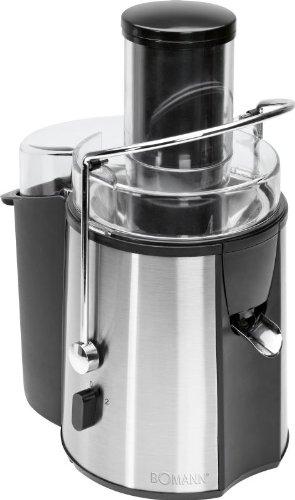 Profi Edelstahl Entsafter mit 1000 Watt ( großer Einfüllschacht, Saftpresse, 2 Liter, Obst-Presse, Smoothie)