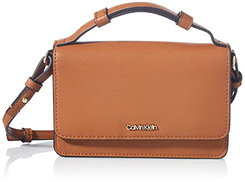 Calvin Klein Ck Must Flap Mini Bag W/Portafoglio Altro SLG, Taglia unica, (Marrone), Medium