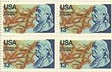 Benjamin Franklin Bicentennial Set of 4 x 13 Cent US Postage Stamps Scot 1690 by US Postal Service