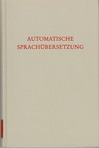 Automatische Sprachübersetzung