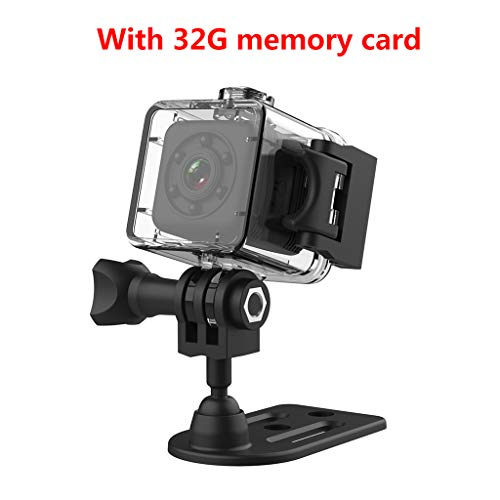 WEIXIE SQ29 Mini Video Camera Draagbare Micro Camera met Nachtzicht Bewaking, 32