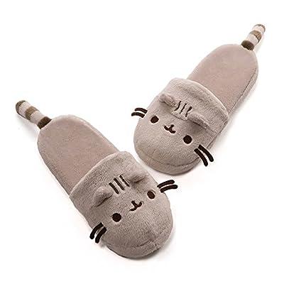 GUND Pusheenicorn Pusheen Unicorn Stuffed Plush Slippers