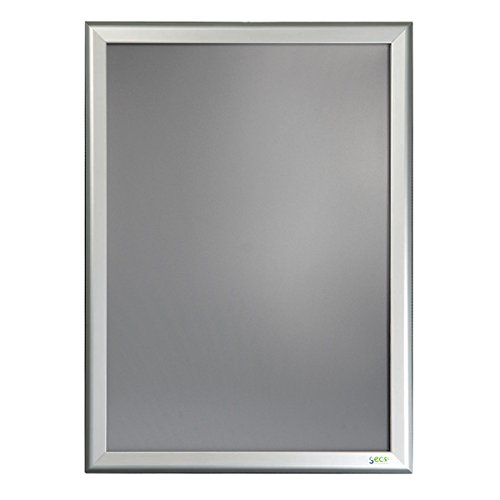 SECO 32SN3648-SV Luxury Snap Frame, 36' x 48', Silver