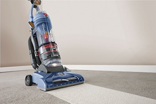 Hoover T-Series WindTunnel Pet Rewind Bagless Corded Upright Vacuum UH70210, Blue