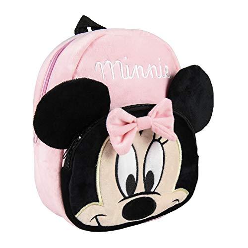 Cerdá - Disney Tasche Minnie Mouse | Kleiner Rucksack Kinder für Kindergarten