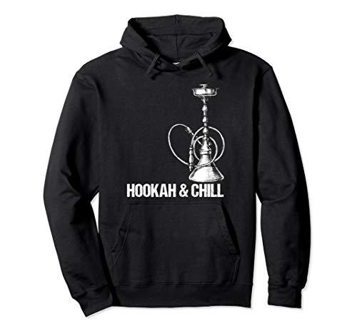 Hookah & Chill für Shisha Liebhaber Pullover Hoodie