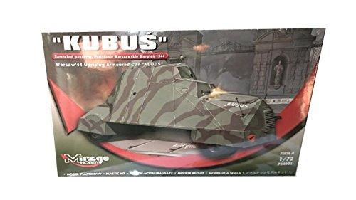 Mirage Hobby 724001 – Le kit de modèle Kubus Warsaw 44 Uprising Armoured Car